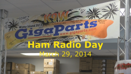 GigaParts Ham Radio Day Special...